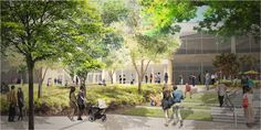Gallery of New Renderings Revealed of Google's Mountain View Campus - 10