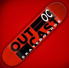 Outcast Block logo board Skateboard Design, Skateboarding, Coca Cola, Graphic Design, Canning, Logo, Logos, Skateboard, Coke