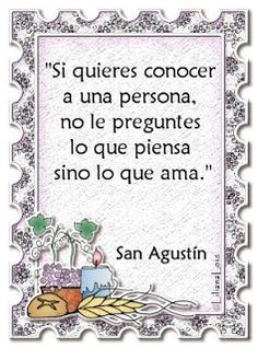 Liliana Lois Diseños: Citas y Frases celebres San Agustin                                                                                                                                                      Más
