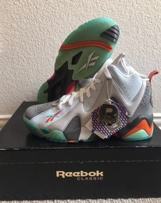 "Reebok Kamikaze II Mid x Packer x SNS ""Remember The Alamo"" Sz 10 Shawn Kemp  NEW  1e2a6fbe39"