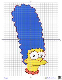 Ordered pair pictures using all four quadrants - free! Graphing Worksheets, Graphing Activities, Math School, School Tool, Kindergarten Writing, Teaching Math, Math About Me, Math Projects, Math Classroom
