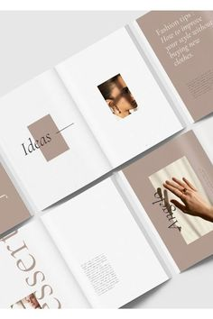 Product Features : - 30 custom page document - 2 size & US letter) - Master page - Compatible with adobe indesign & higher - Grid content - Free font Web Design, Page Design, Layout Design, Print Design, Design Editorial, Editorial Layout, Editorial Fashion, Lookbook Layout, Lookbook Design