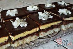 Kokos Desserts, Köstliche Desserts, Delicious Desserts, High Sugar, Sweet And Salty, Nutella, Tiramisu, Food And Drink, Chocolate