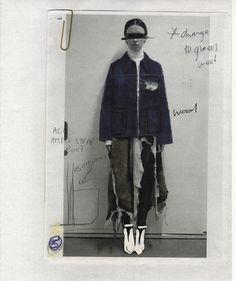 Concept board for Drew Henry's 2014 MA Show. Fashion Portfolio Layout, Fashion Design Sketchbook, Fashion Sketches, Pose Reference Photo, Hijab Fashion Inspiration, Student Fashion, Mode Streetwear, Fashion Brand, Mens Fashion