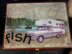 Gone fishing! Hotcakes cigar boxes for him $30