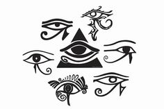 The All Seeing Eye Wadjet Ancient Egypt By LensBug