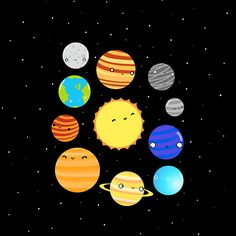 An Introduction In our solar system nine planets circle around our Sun The Sun sits in the middle while the
