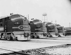 Railroads, Chicago-style, robertpiers: New Atchison, Topeka and Santa Fe...