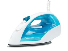 Panasonic NI-E300TR - Steam/Dry Iron with Titanium, Non-Stick Coated Curved Soleplate - Overview