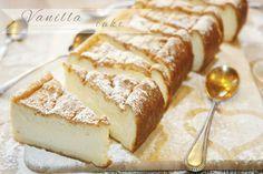 Cookies and Sweets - Magic Vanilla Cake ~ Magisk vaniljkaka Swedish Recipes, Sweet Recipes, No Bake Desserts, Dessert Recipes, Cookie Cake Pie, Strawberry Cakes, Cakes And More, Flan, Queso