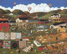 Long Awaited County Fair Painting