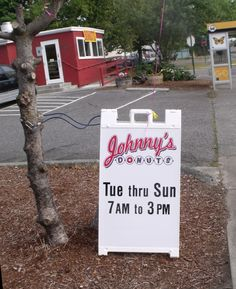 Johnny's Donuts Bellingham, WA The Lettered Streets has claimed Johnny's donuts as their own. Be sure to stop in when you are passing by.