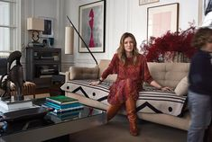 Clare Waight Keller in the living room