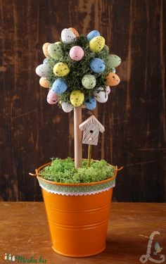 Easter Crafts, Spring, Holiday, Kids, Decorations, Art, Easter Tree, Creative, Young Children