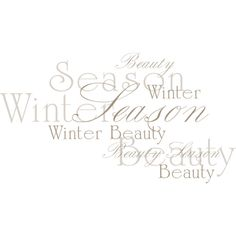 NLD Addon Word art 2.png ❤ liked on Polyvore featuring text, words, effects, winter and fotki