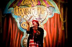 Zany Umbrella Circus, Clown Gordoon, from Freeman Stage at Bayside, Selbyville, DE May 2011