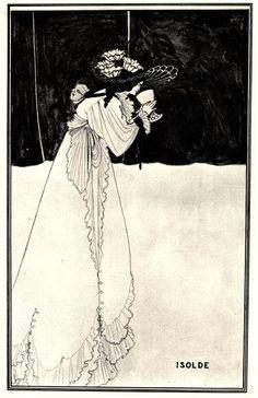Isolde - Beardsley Aubrey