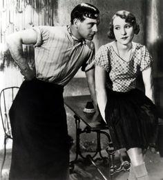 Pierre Fresnay and Orane Demazis in Marius directed by Alexander Korda, 1931