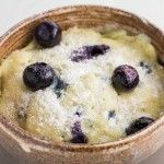 SINGLE SERVING Blueberry Sponge Mug Cake recipe that only takes 1 minute in the microwave to bake! This DIY easy to make recipe will help your sweet tooth cravings without packing on the extra calories! I'm a dessert kinda girl. I eat dinner, an