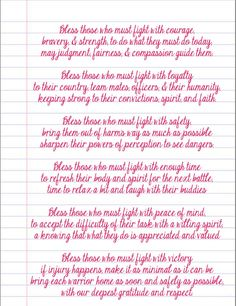 A prayer for our soldiers <3