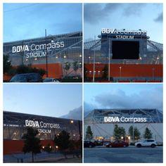 All 4 Stadium signs lit