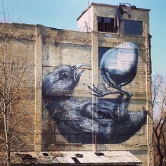 Wall Therapy mural in Rochester, NY. Instagram photo by @Tina Clark via ink361.com