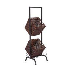 Southern Enterprises 2-Tier Basket Storage by Southern Enterprises, http://www.amazon.com/dp/B004L7QGTM/ref=cm_sw_r_pi_dp_PHh-qb0S49TJD