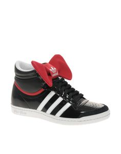 sports shoes bbfbb 4a77f Celebrities who wear, use, or own Adidas Top Ten Hi Sleek Night Bow  Trainer. Also discover the movies, TV shows, and events associated with  Adidas Top Ten ...