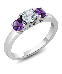 4ct Oval Cut Amethyst /& Cz .925 Sterling Silver Ring Sizes 5-10