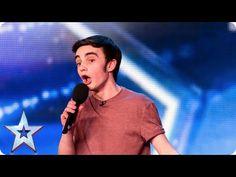 ▶ Young singer Daniel Chettoe has a big surprise for the Judges | Britain's Got Talent 2015 - YouTube