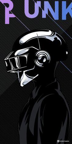 Daft Punk poster.