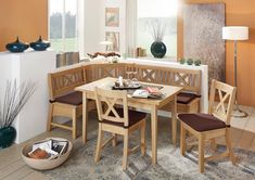 Eckbankgruppe »Bodensee« Outdoor Furniture Sets, Outdoor Decor, Home Projects, Corner Desk, Dining Table, Kids Rugs, House, Home Decor, Products