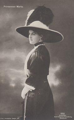 Princess Marie of Sweden, nee Grand Duchess of Russia 1890–1958