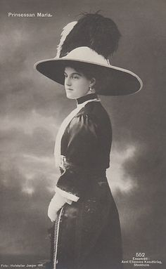 Princess Maria of Sweden, nee Grand Duchess of Russia 1890–1958