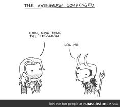 The Avengers Condensed
