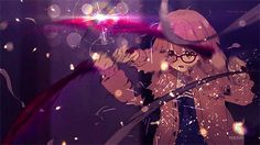 Beyond the Boundaries of Being Sick :P Manga Anime, Anime Art, Mirai Kuriyama, Fighting Gif, Beyond The Boundary, Anime Fight, Naruto E Boruto, Kyoto Animation, Fanart