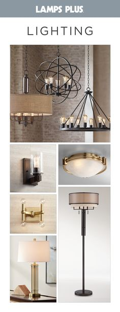 Lamps Plus offers a complete selection of indoor and outdoor lighting fixtures. From stylish ceiling light fixtures, chandeliers and trend-setting ceiling fans to thousands of designer lamps and lamp shades that are in-stock and ready to ship.