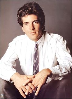 John Fitzgerald Kennedy, Jr. (November 25, 1960 – July 16, 1999 was an American lawyer, journalist, and magazine publisher. He was the son of U.S. President John F. Kennedy and First Lady Jacqueline Bouvier Kennedy, and a nephew of Senators Robert F. Kennedy and Ted Kennedy. He died in a plane crash along with his wife Carolyn Jeanne Bessette and her elder sister Lauren on July 16, 1999❤❁❤ http://en.wikipedia.org/wiki/John_F._Kennedy,_Jr.