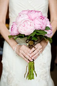 pink peony bouquet. I love it