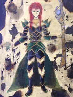 """""""Sursurist"""" by Taylor. Texas Renaissance Festival Student Art Competition- High School, 2014"""