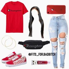 another champion outfit♥️ .hope you ion mind💬 . ANY OUTFIT SUGGESTIONS? DMS IS OPEN/Comments✨! Swag Outfits For Girls, Cute Outfits For School, Teenage Girl Outfits, Cute Swag Outfits, Cute Comfy Outfits, Teenager Outfits, Dope Outfits, Teen Fashion Outfits, Trendy Outfits