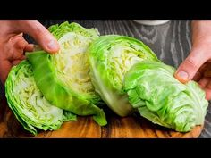 Przygotowuję ten przepis od 5 lat. Kapusta, przyprawa i trochę soli| Smaczny.TV - YouTube Low Carb Recipes, Vegetarian Recipes, Healthy Recipes, Easy Healthy Dinners, Healthy Snacks, Clean Pumpkin Recipes, Appetizer Recipes, Snack Recipes, Apple Snacks