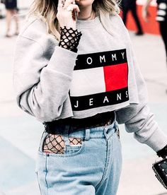 Dust off your fishnets and take out your distressed denim—this trend is In.