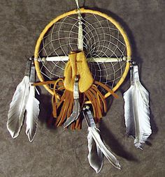 Handcrafted 6 inch Native American Medicine Wheel with Medicine Pouch