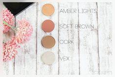 New In | MAC Leerpalette und Lidschatten Soft Brown, Cork, Amber Lights