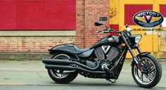 Victory Motorcycles...I want this to be my next bike. Blacked out, tho...you can keep your chrome.