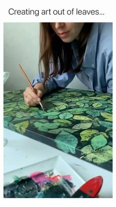 Fun Diy Crafts, Arts And Crafts, Wow Art, Cool Art Drawings, Diy Canvas Art, Amazing Art, Awesome, My New Room, Diy Painting