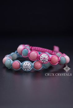Hey, I found this really awesome Etsy listing at https://www.etsy.com/listing/228753996/candy-summer-mix-womens-bracelet-pink