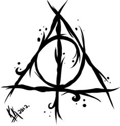 My Deathly Hallows Tattoo Design by TheVengefulGeek.deviantart.com on @deviantART