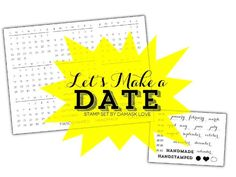 Let's Make a Date. For years, I've been creating customized calendars as gifts and for myself. To add a new layer of possibilities for creat...